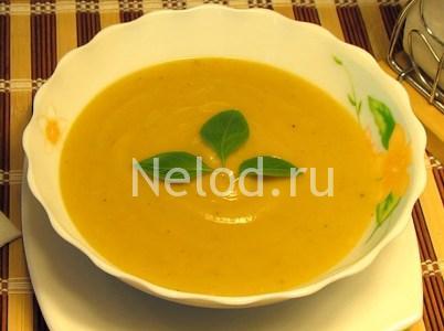 Суп-пюре из кабачков рецепт