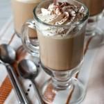 Кофейное желе со сливками