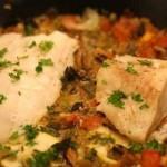 Как приготовить пикшу с овощами в духовке
