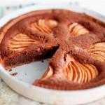 Шоколадный торт с грушами: простой пошаговый рецепт с фото