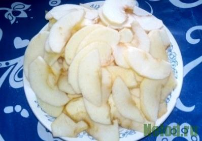 Цветаевский яблочный пирог - начинка