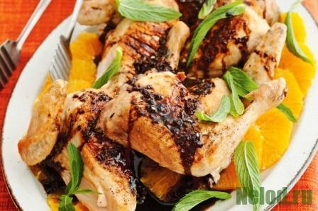 Курица гриль с бальзамическим уксусом и медом