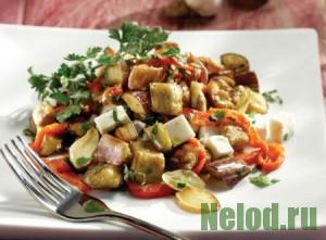 """Овощной салат из баклажанов """"Осенний"""""""
