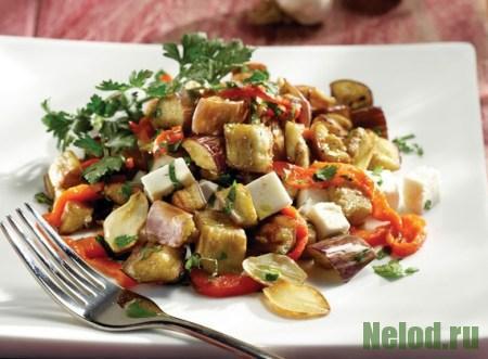 осенний салат из овощей рецепт