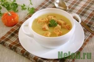 Суп-пюре из тыквы - рецепт приготовления