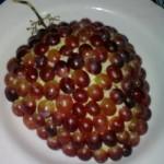 """салат """"Тиффани"""" с виноградом и курицей"""