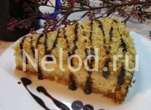 Королевский пирог с творогом