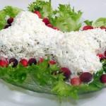 "Новогодний салат ""Косточка"""